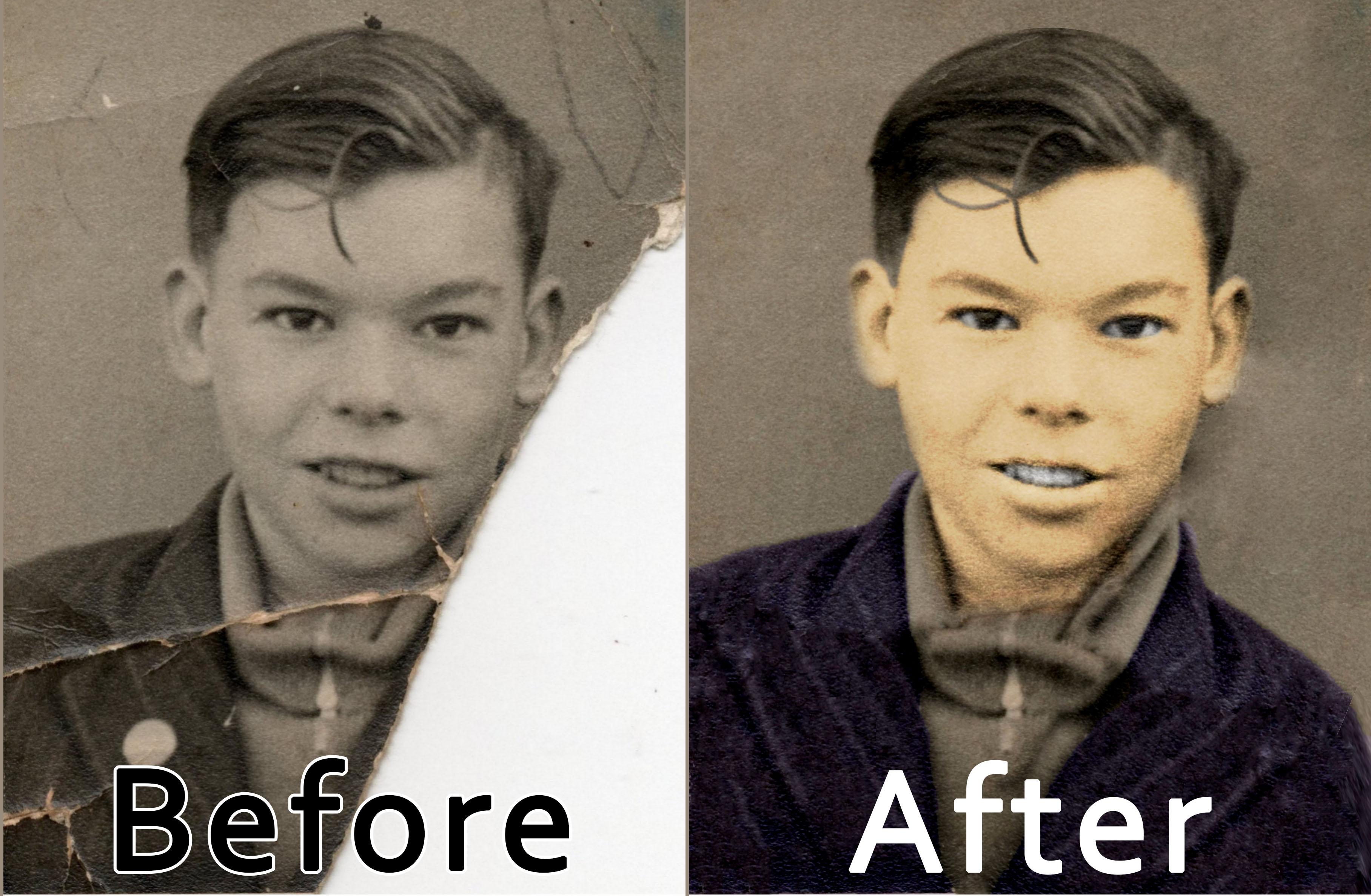 old photo restoration thinknoboundaries